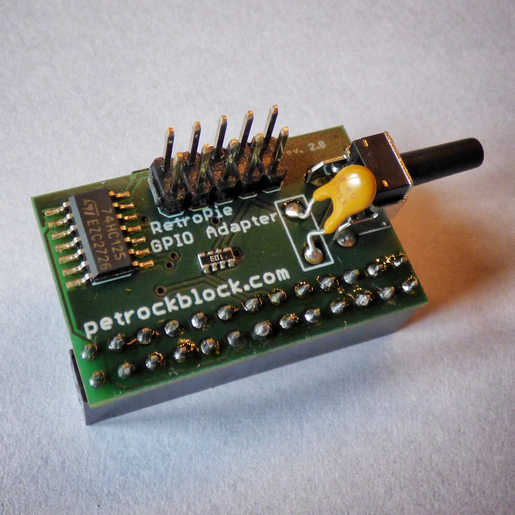 The RetroPie GPIO Adapter - PetRockBlock