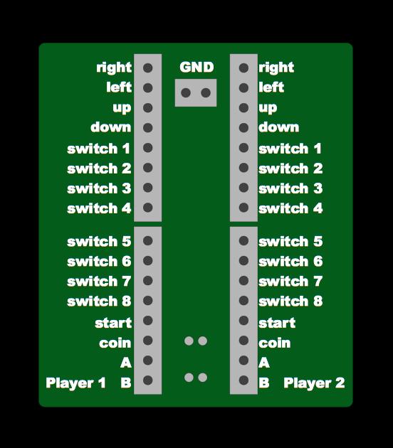 Proyecto bartop 19 street fighter pi de agcarles page 2 for Conectar botones arcade a raspberry pi 3