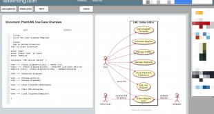 UML editor view