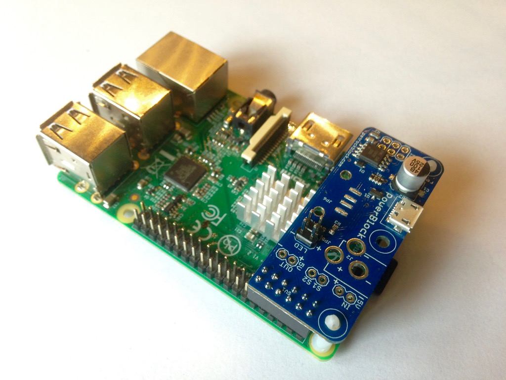 PowerBlock with RPi Model B