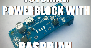 Tutorial: PowerBlock with Raspbian