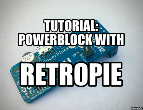Tutorial: PowerBlock with RetroPie