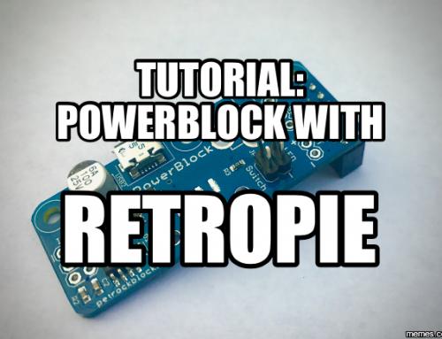 Tutorial: PowerBlock with RetroPie
