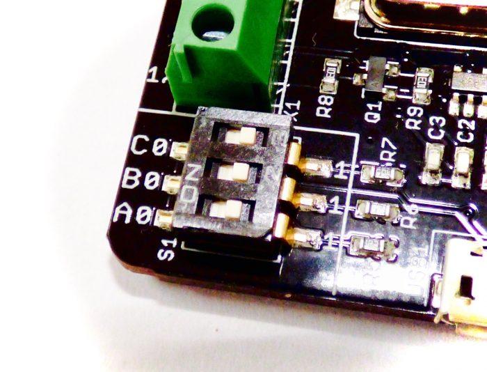 GamepadBlock DIP Switch for Controller Mode