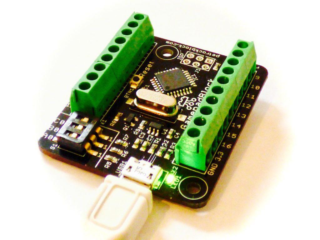 GamepadBlock: A Universal Game Controller USB Interface