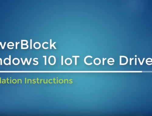 PowerBlock now with Support for Windows 10 IoT Core