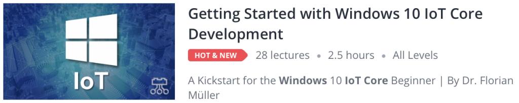 Windows 10 IoT Core Online Course