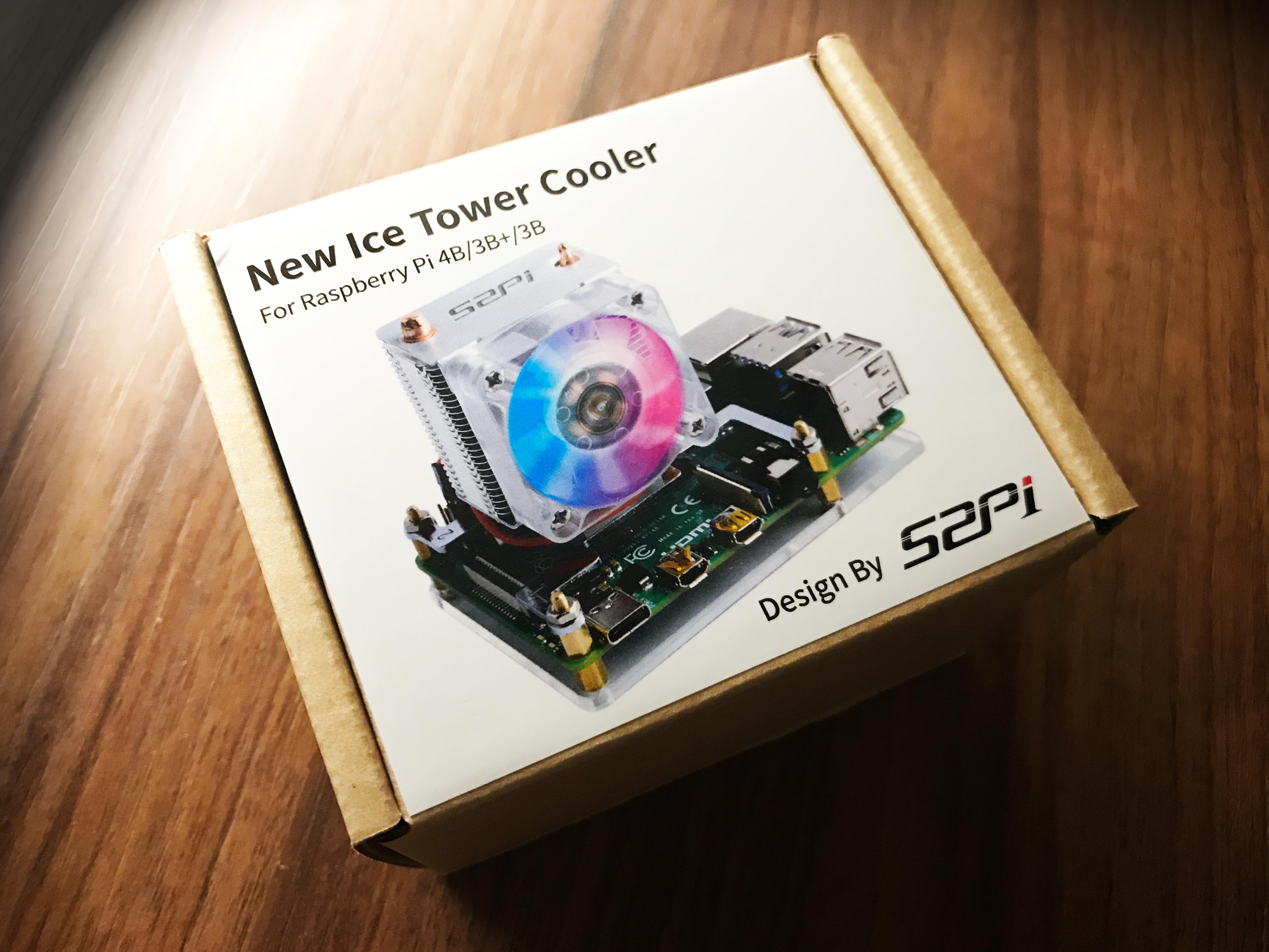 New Ice Cooler Fan for Raspi 4
